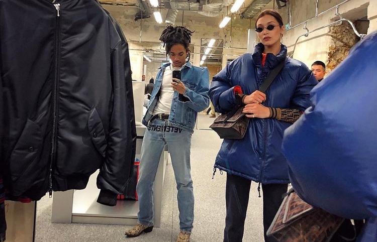 Instagram Bella Hadid Spotted In Ambush And Fendi Hadidscloset