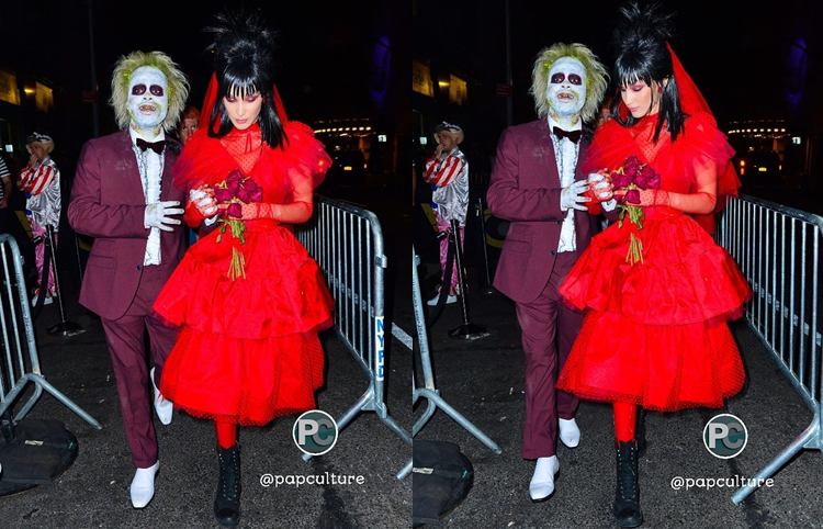 October 31 2018 Bella Hadid Celebrates Halloween As Lydia From Beetlejuice Hadidscloset